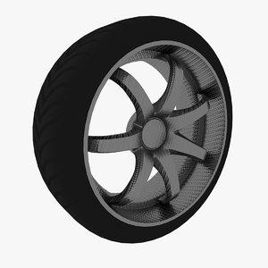 wheel 7 spokes model