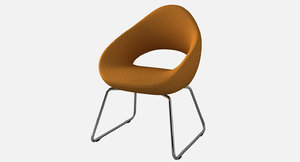 stylish chair 3D model