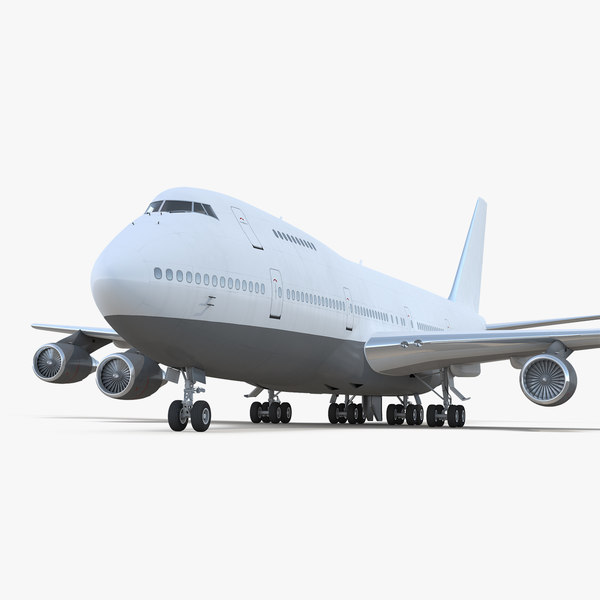 3D boeing 747-200b generic