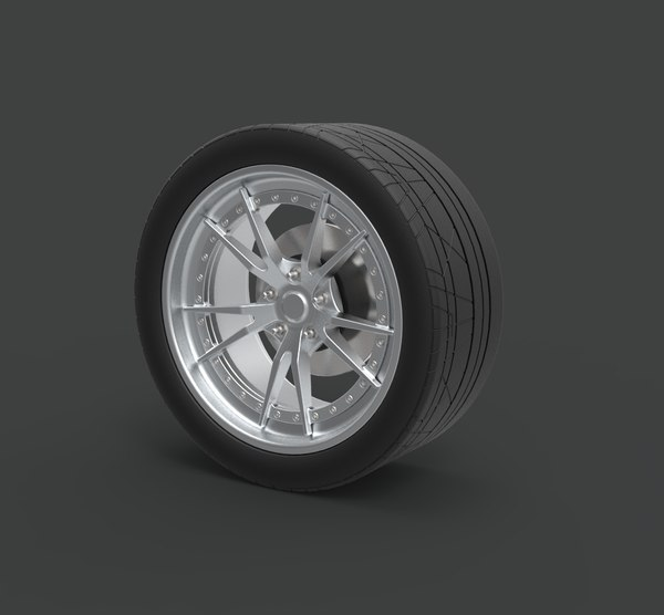 wheel charger ice 3D model