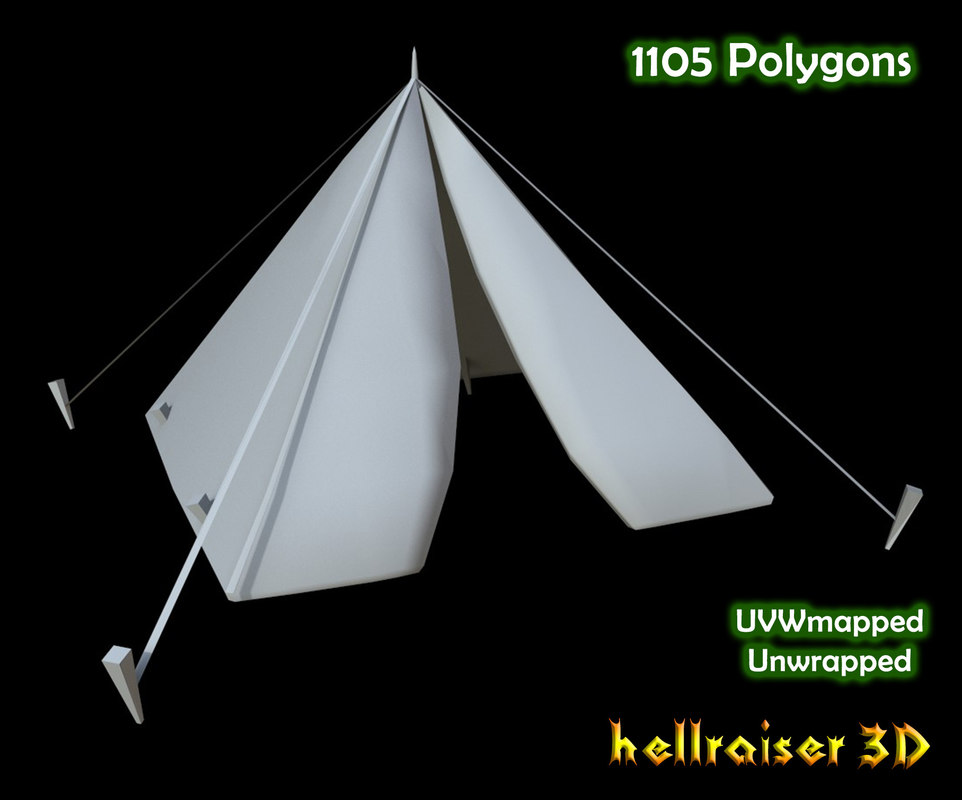 military tent 3D