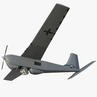 Remote Controlled UAS RQ 20B Puma Rigged