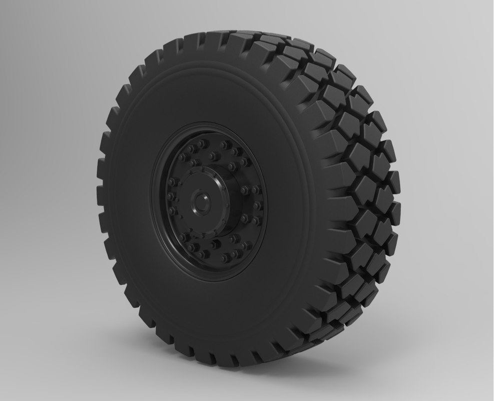 wheel truck offroad model