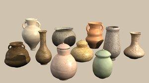 3D model pottery