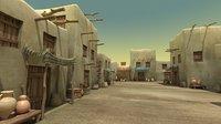 3D model old village