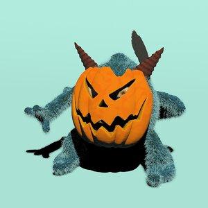 3D troll trot model
