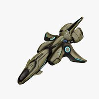 spaceship scout green