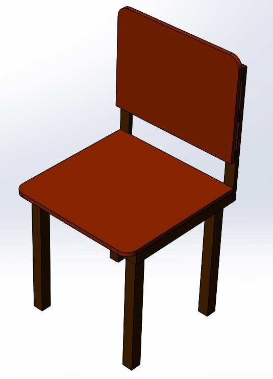 chair solidworks 3D model