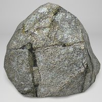 3D coastal rocks