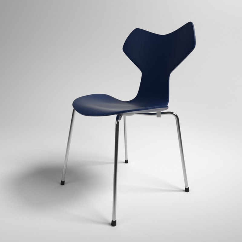 3D model interior fritz hansen grand prix