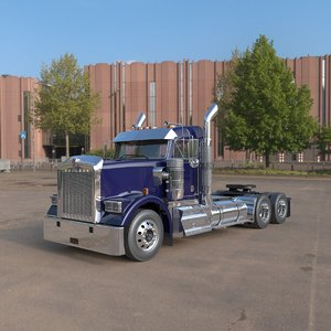 3D w900 day cab 2018