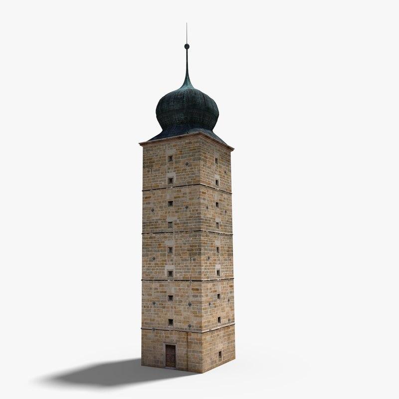 sitkovska water tower 3D model