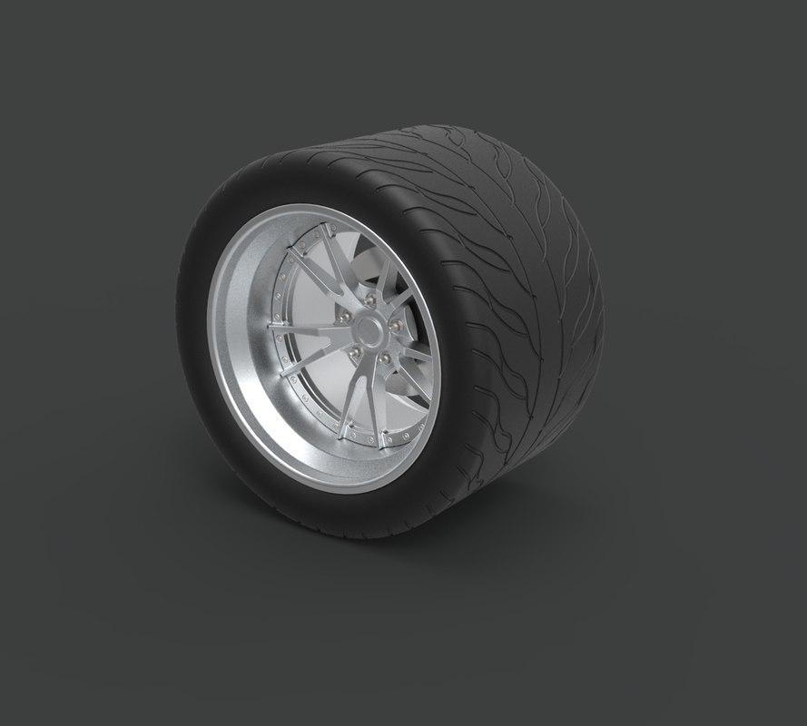 wheel rear charger model