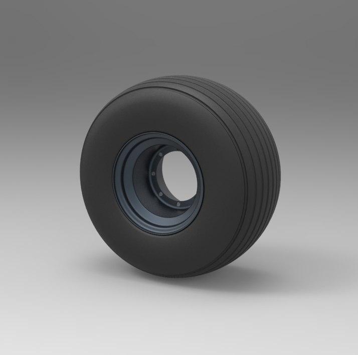 3D wheel scrooser