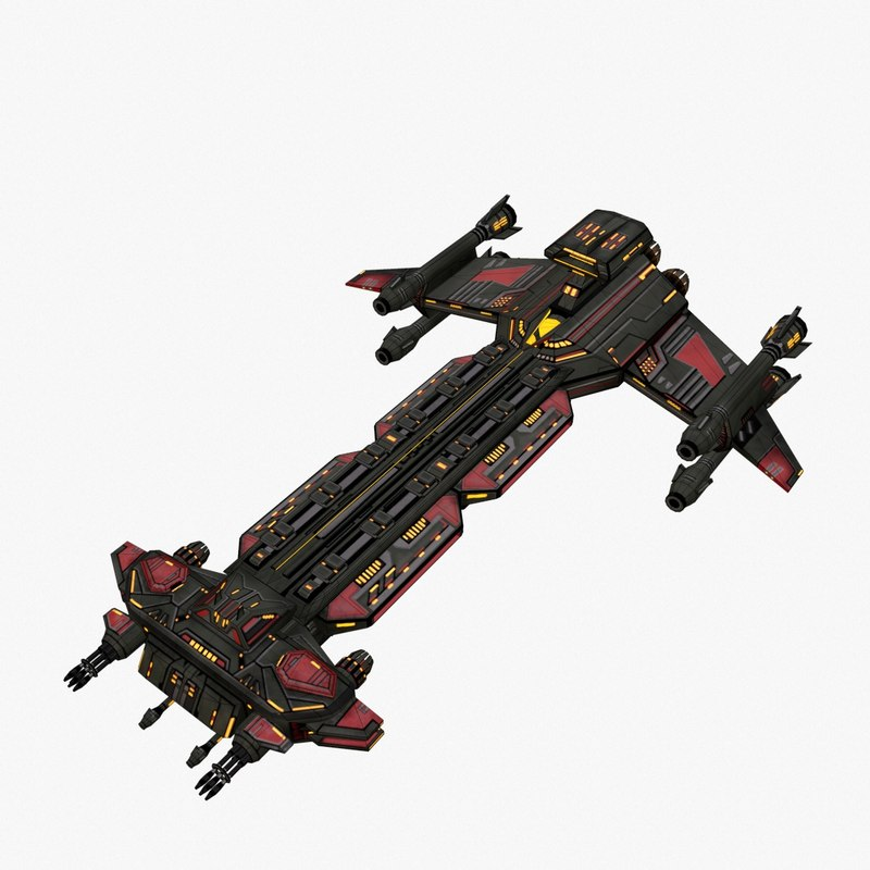 spaceship games 3D model