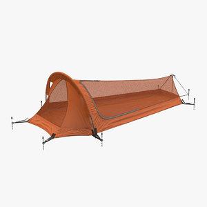 3D bivy shelter tent model