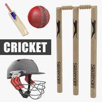 cricket 4 3D model