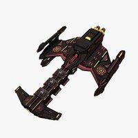 3D model spaceship games