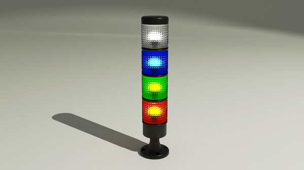 3D model signal tower