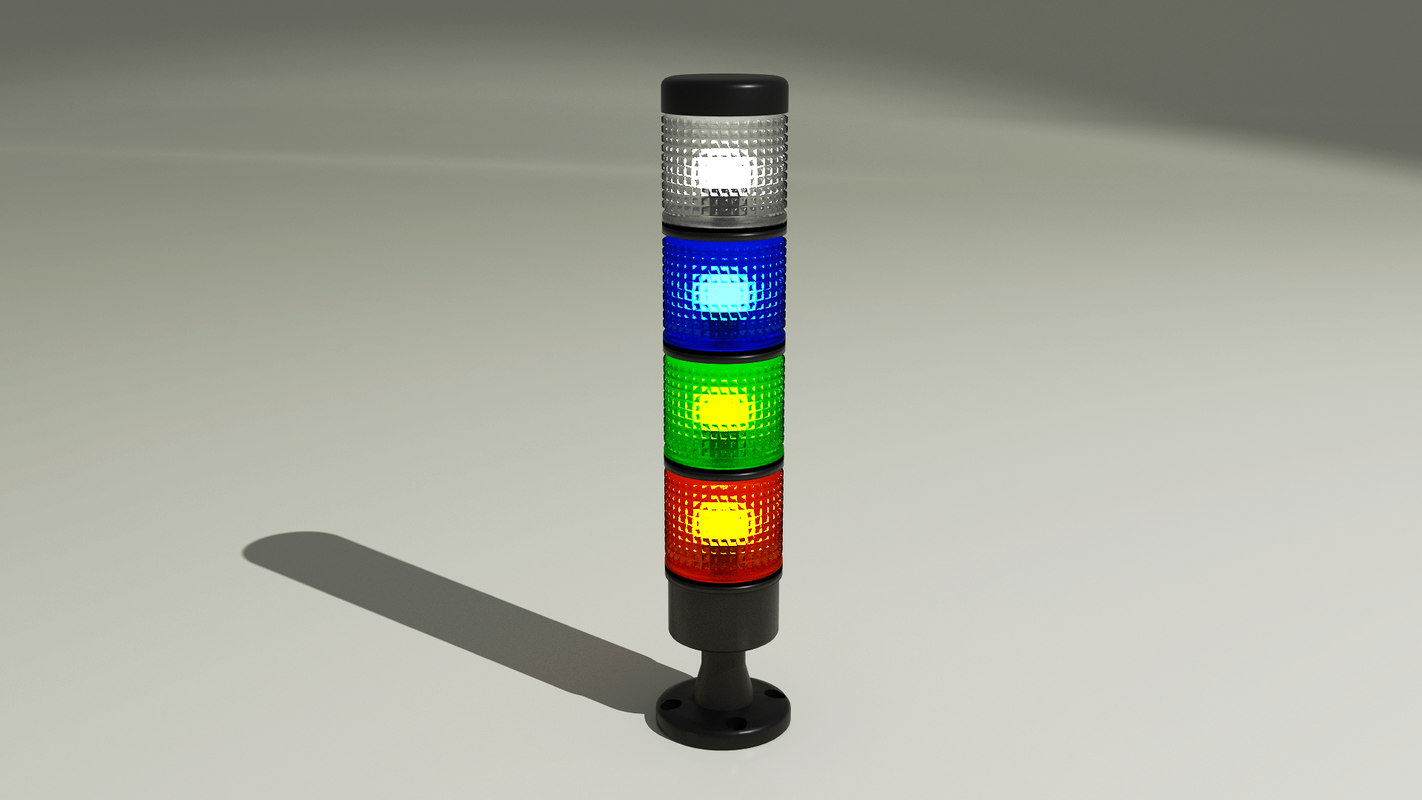 3D model signal tower