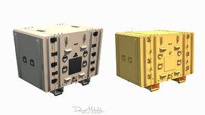 3D equipment case