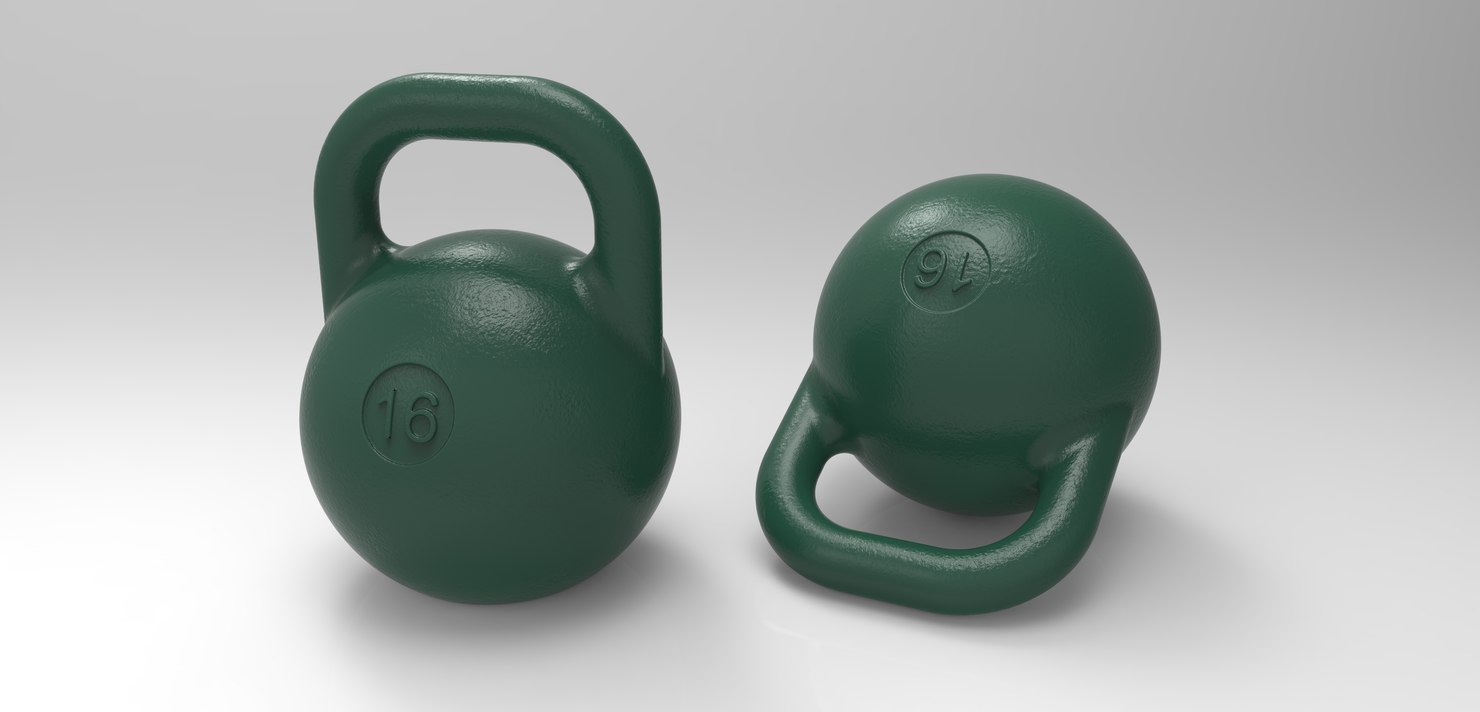 kettlebell 3D model