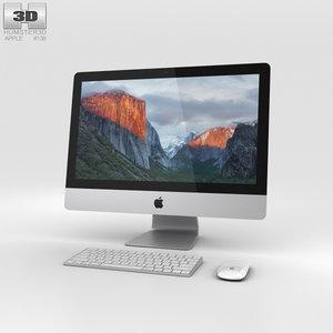 21 5 apple 3D model