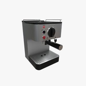 3D espresso maker cuisinart em-100 model