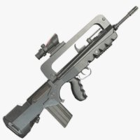Famas F1 Assault Rifle