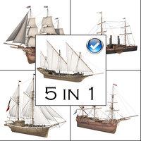 3D great ship model