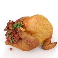 turkey chicken grill 3D