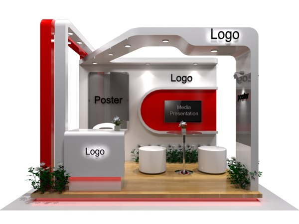 3D exhibition stand fabrication