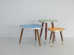 vintage tables - 3D model