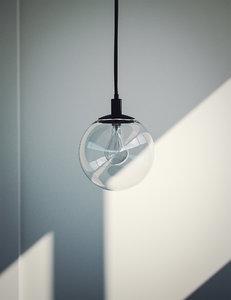 3D light bulb ceiling lamp model
