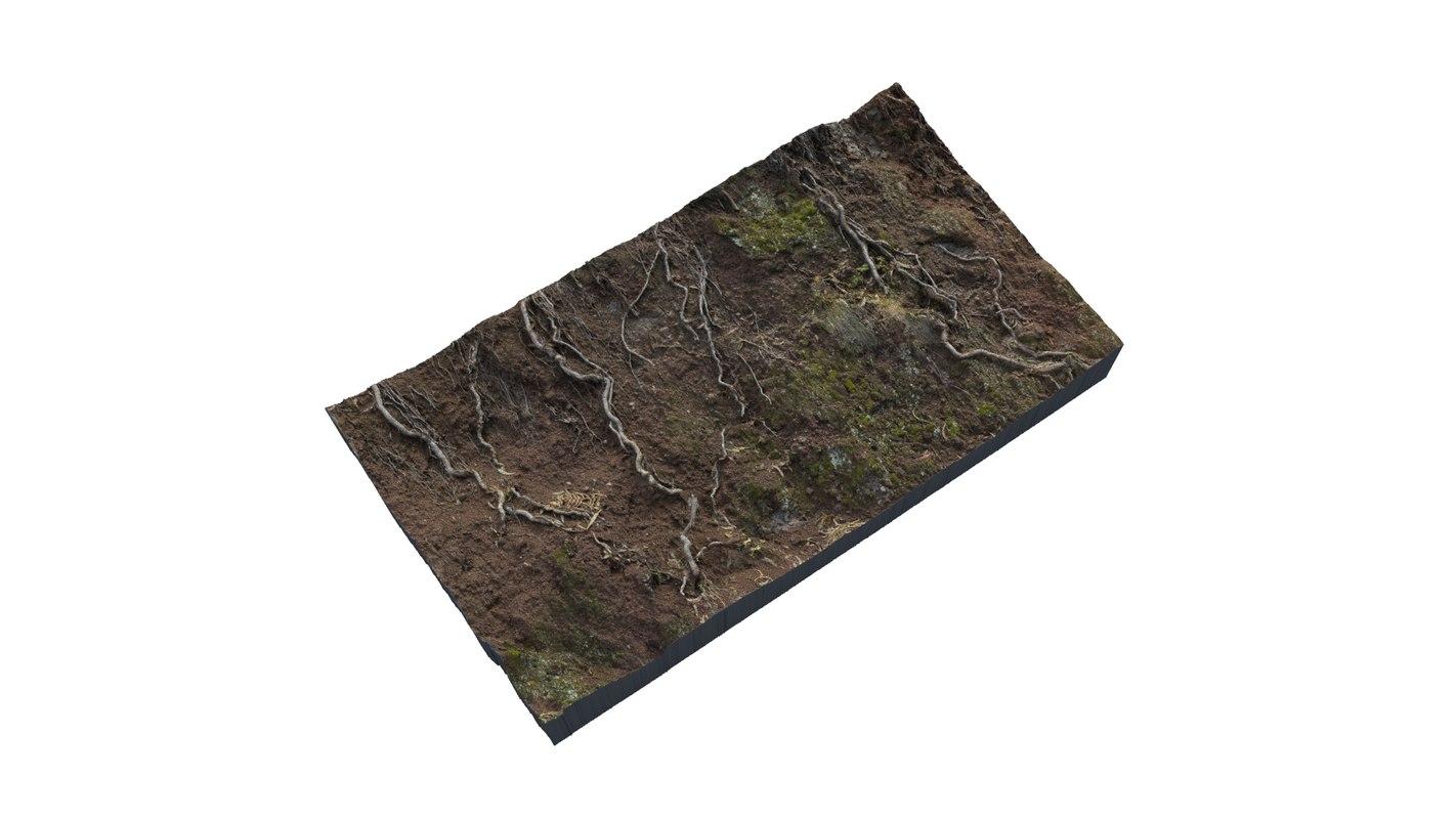scan soil - 3D
