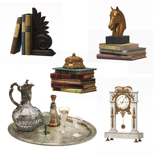 antique decoration 3D model
