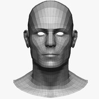 Base mesh male head