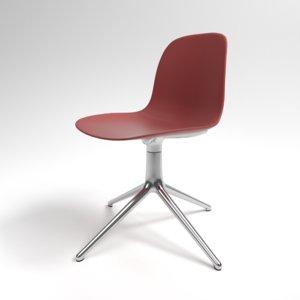 interior normann form swivel chair model