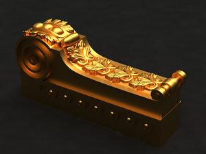 capital mold decor 3D model