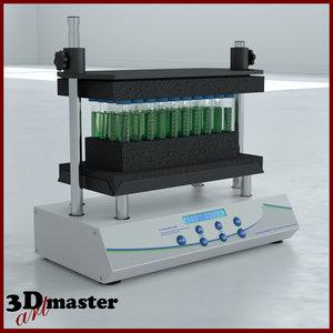 benchmixer xl multi-tube vortexer 3D
