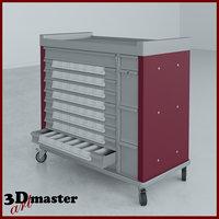 standard line 54 bin 3D model