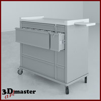 card medication cart key lock model