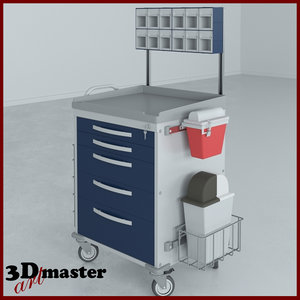 3D rescue series loaded anesthesiology