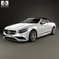 3D mercedes mercedes-benz s-class model