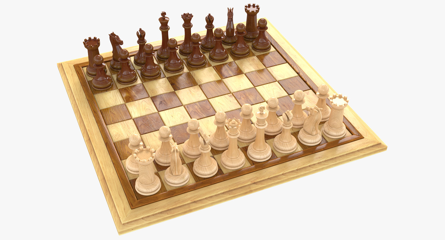 chess bishop 3D