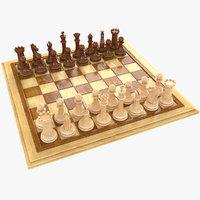 chess bishop 3D
