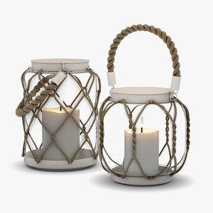 3D dialma brown candle