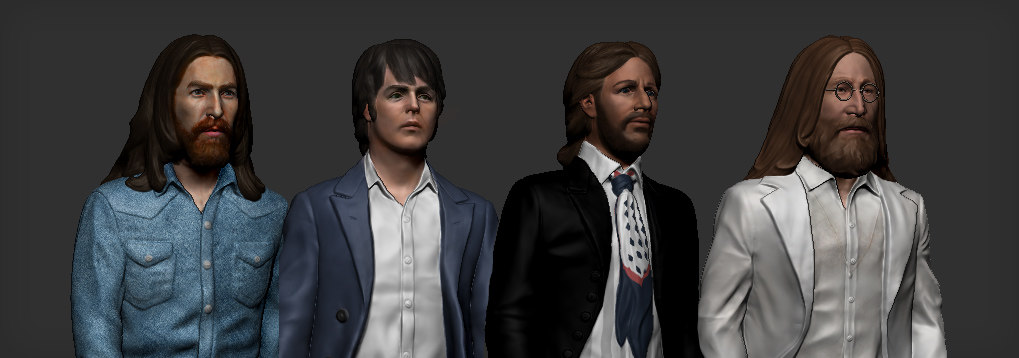 beatles abbey road 3D model
