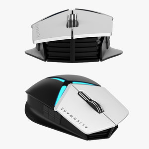 dell alienware elite 3D model