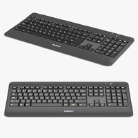 logitech wireless keyboard model